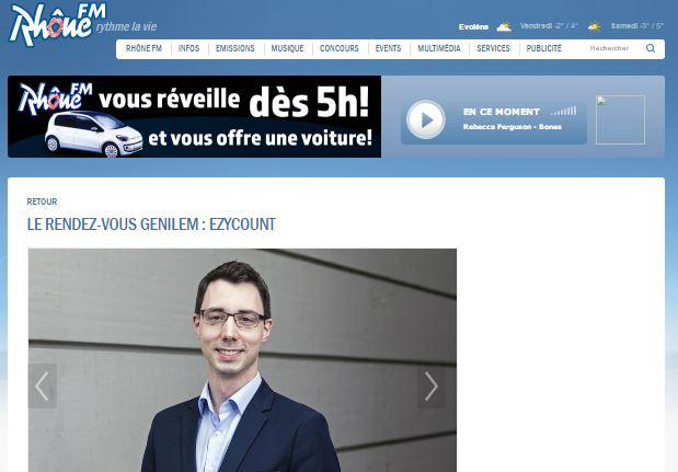 Interview de EZYcount sur RhoneFM