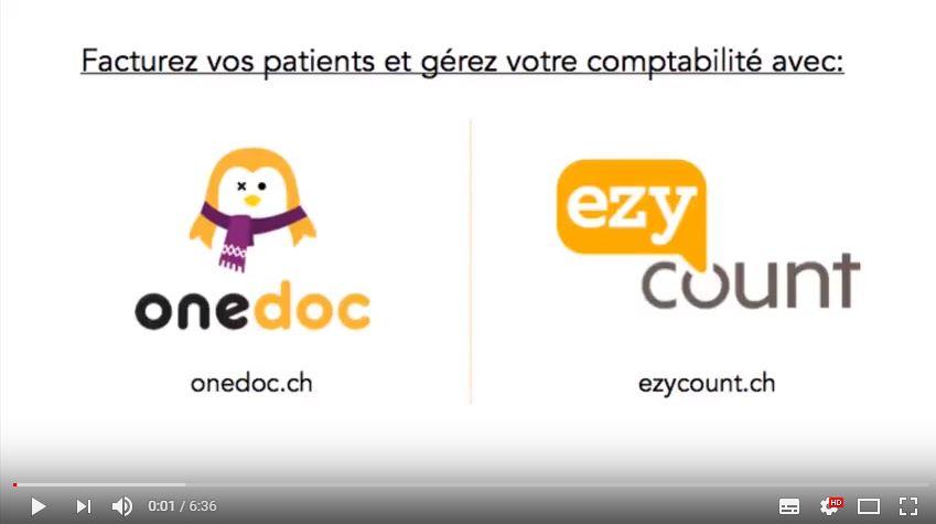 Thérapeutes, facturez avec OneDoc et comptabilitez avec EZYcount