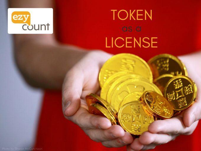 Token as a license