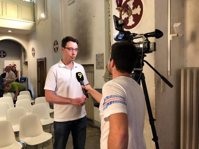 Interview Canal9 Vivien EZYcount