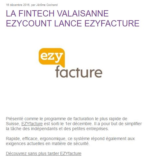 Article complet ALPICT sur EZYfacture