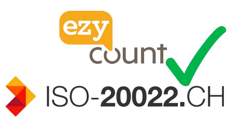 EZYcount est ISO 20022 ready