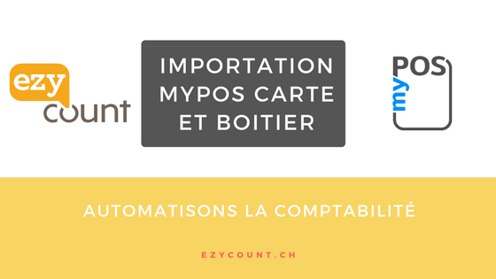 Importation myPOS dans EZYcount