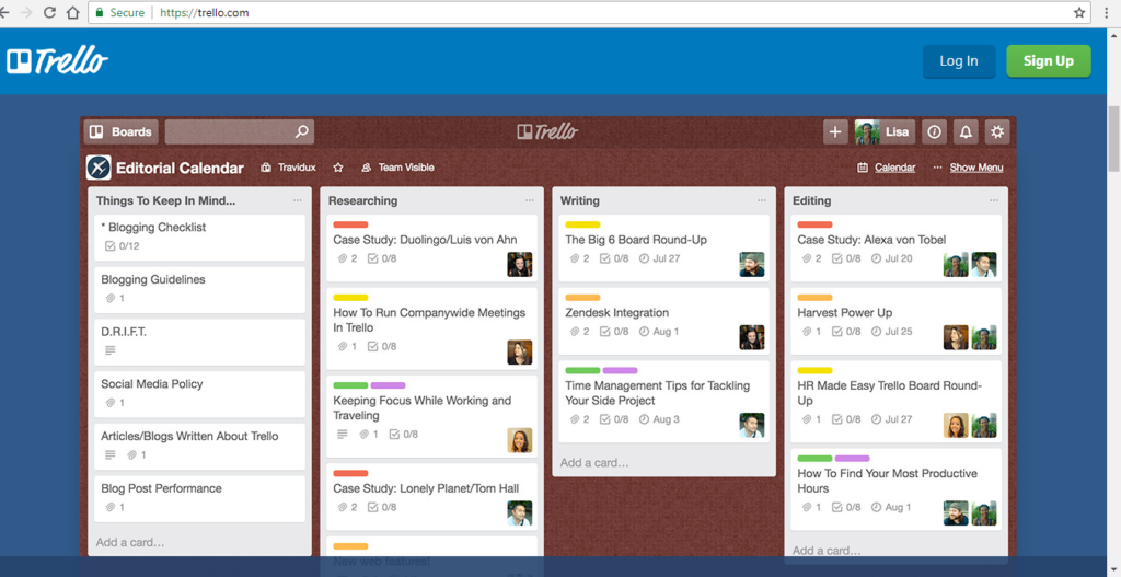 Trello simplify to do list
